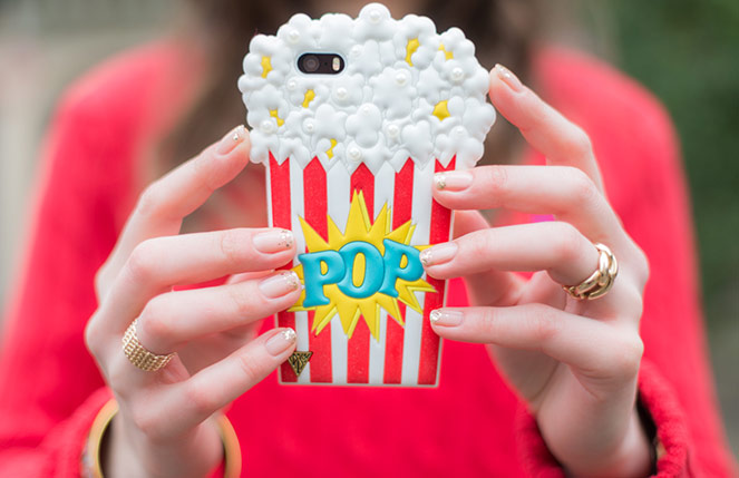 Mode And The City - www.modeandthecity.net - Les Cinq Petites Choses #119 - coque iPhone Claire's Katy Perry pop corn