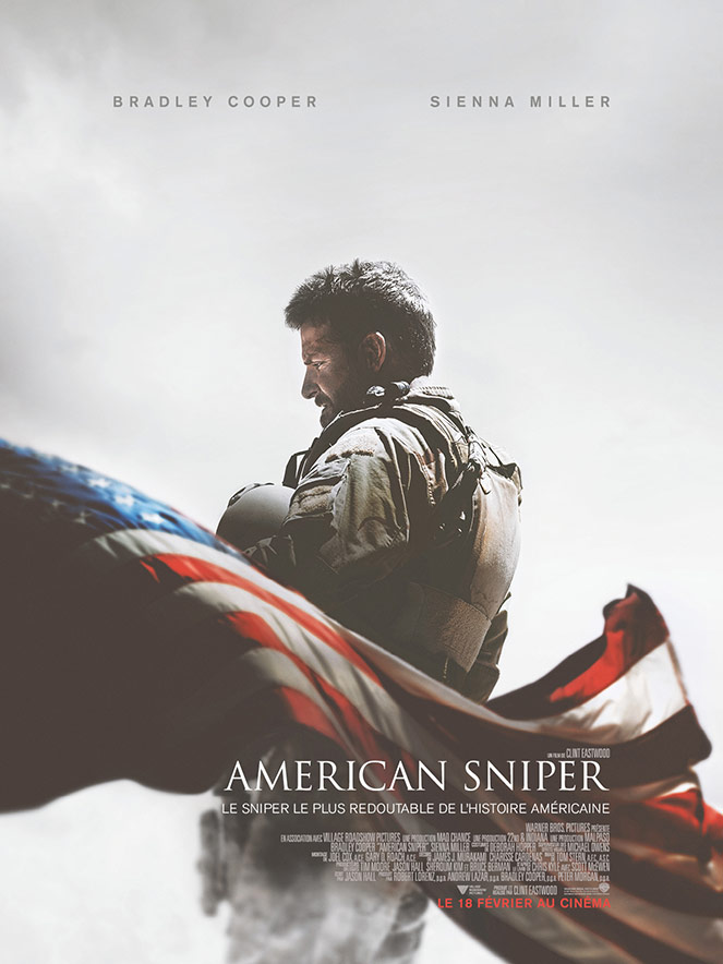 Mode And The City - www.modeandthecity.net - Les Cinq Petites Choses #120 - American Sniper film