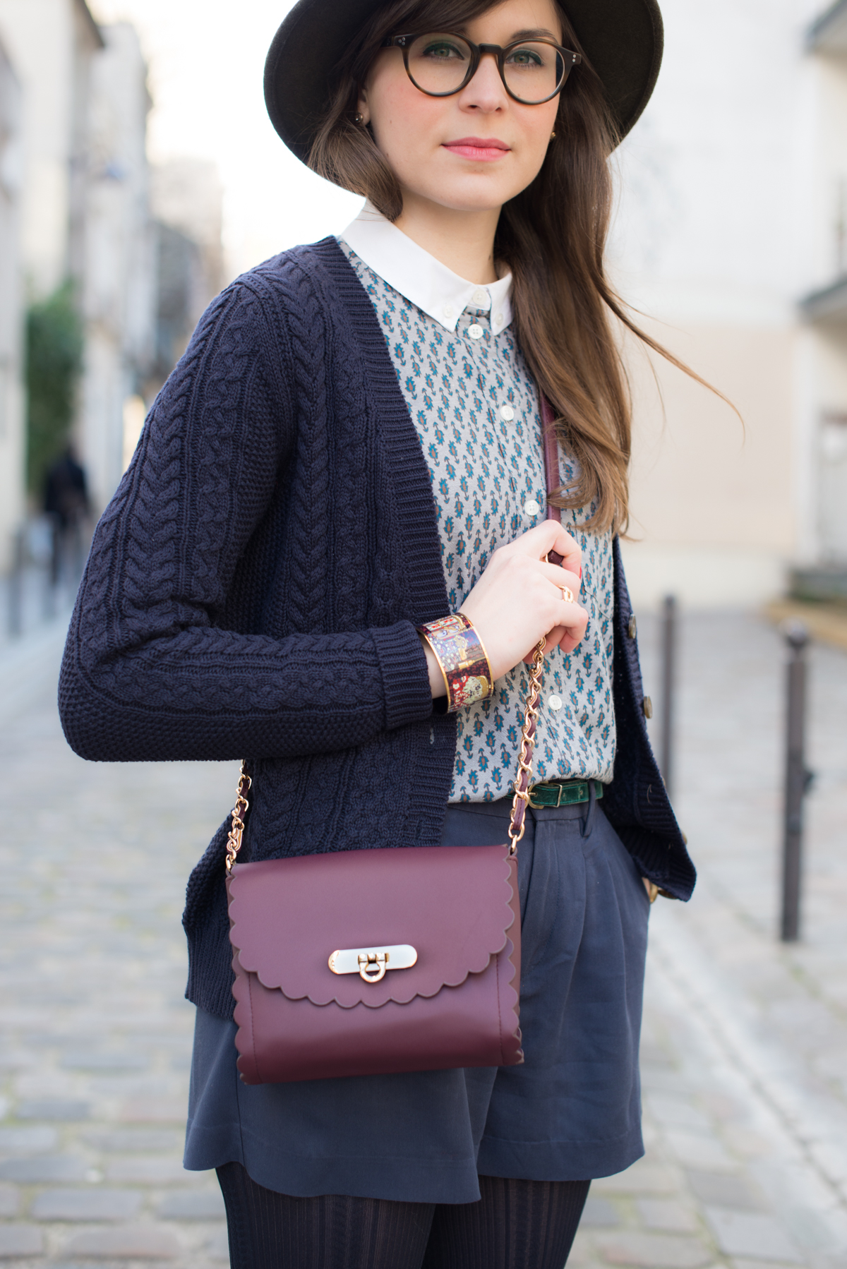 Blog Mode And The City - www.modeandthecity.net - Sac Festonné Bordeaux Asos