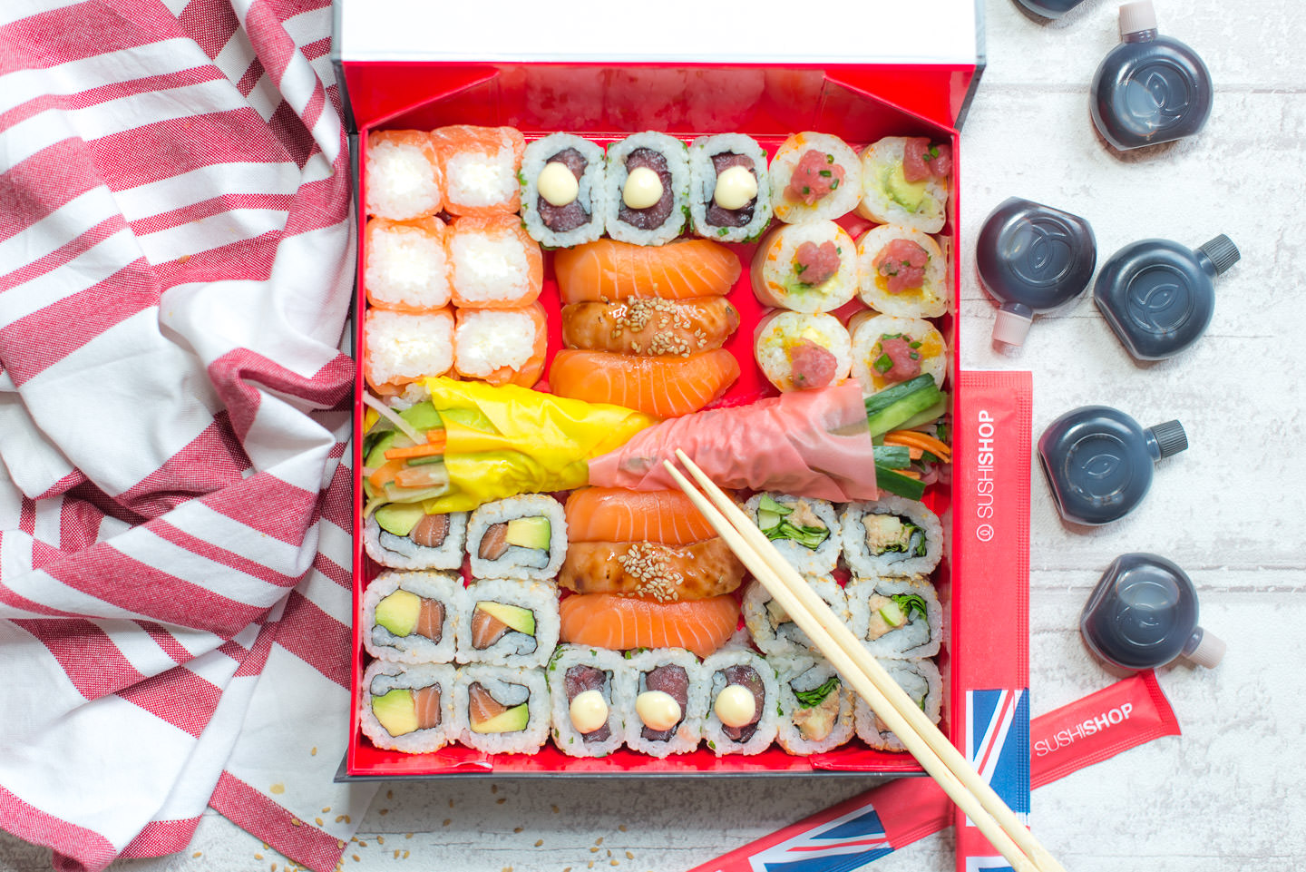 Blog Mode and The City Les Cinq Petites Choses 146 london box sushi shop
