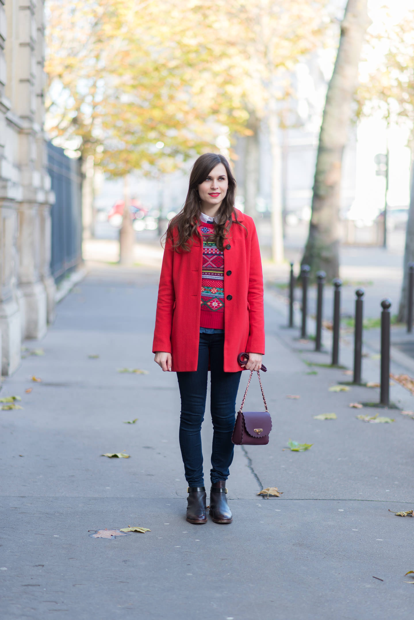 Blog-Mode-And-the-City-Looks-Rouge-Bordeaux-Jacquard