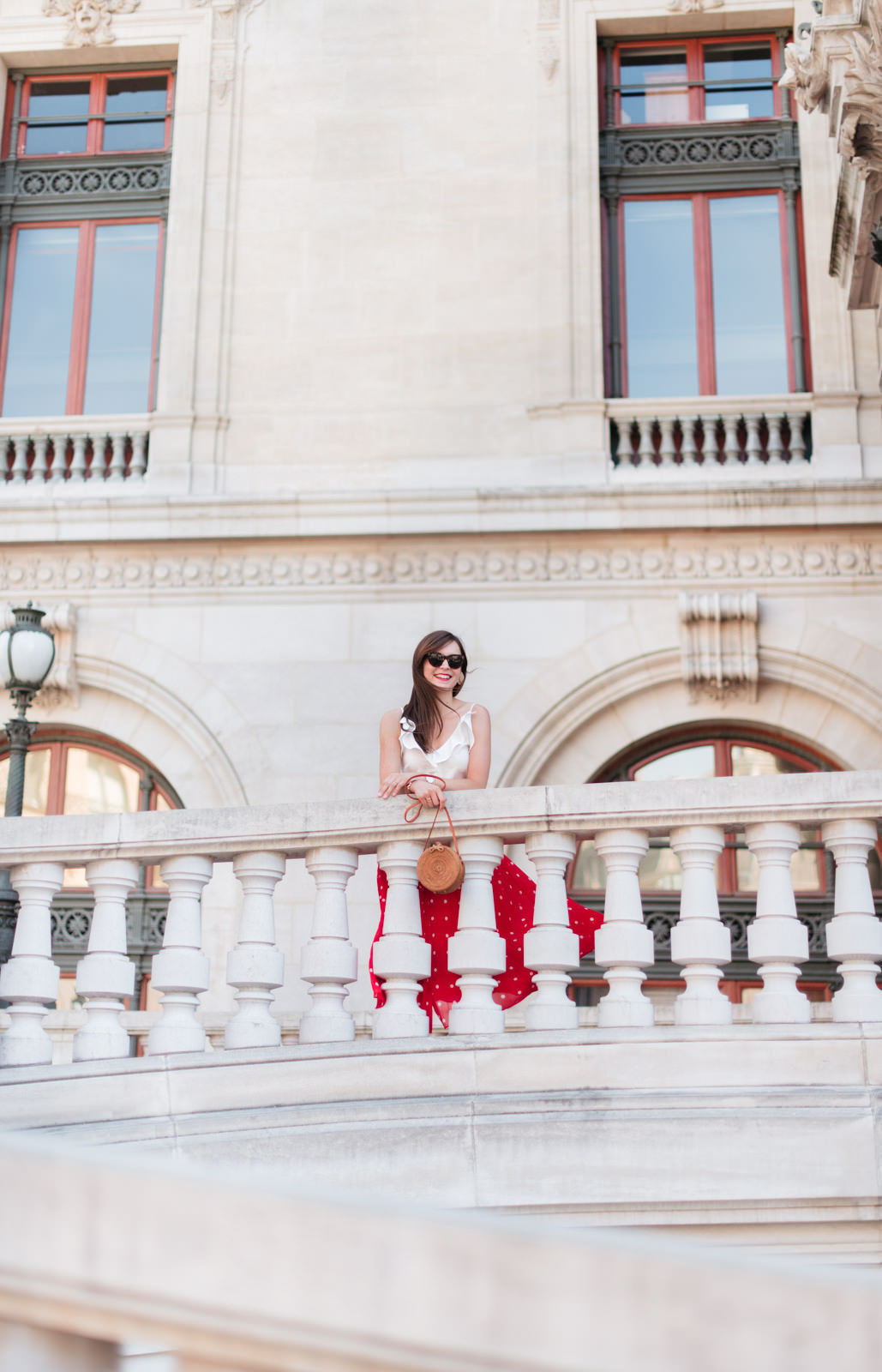 Blog-Mode-And-The-City-Looks-Jupe-rouge-a-pois-6