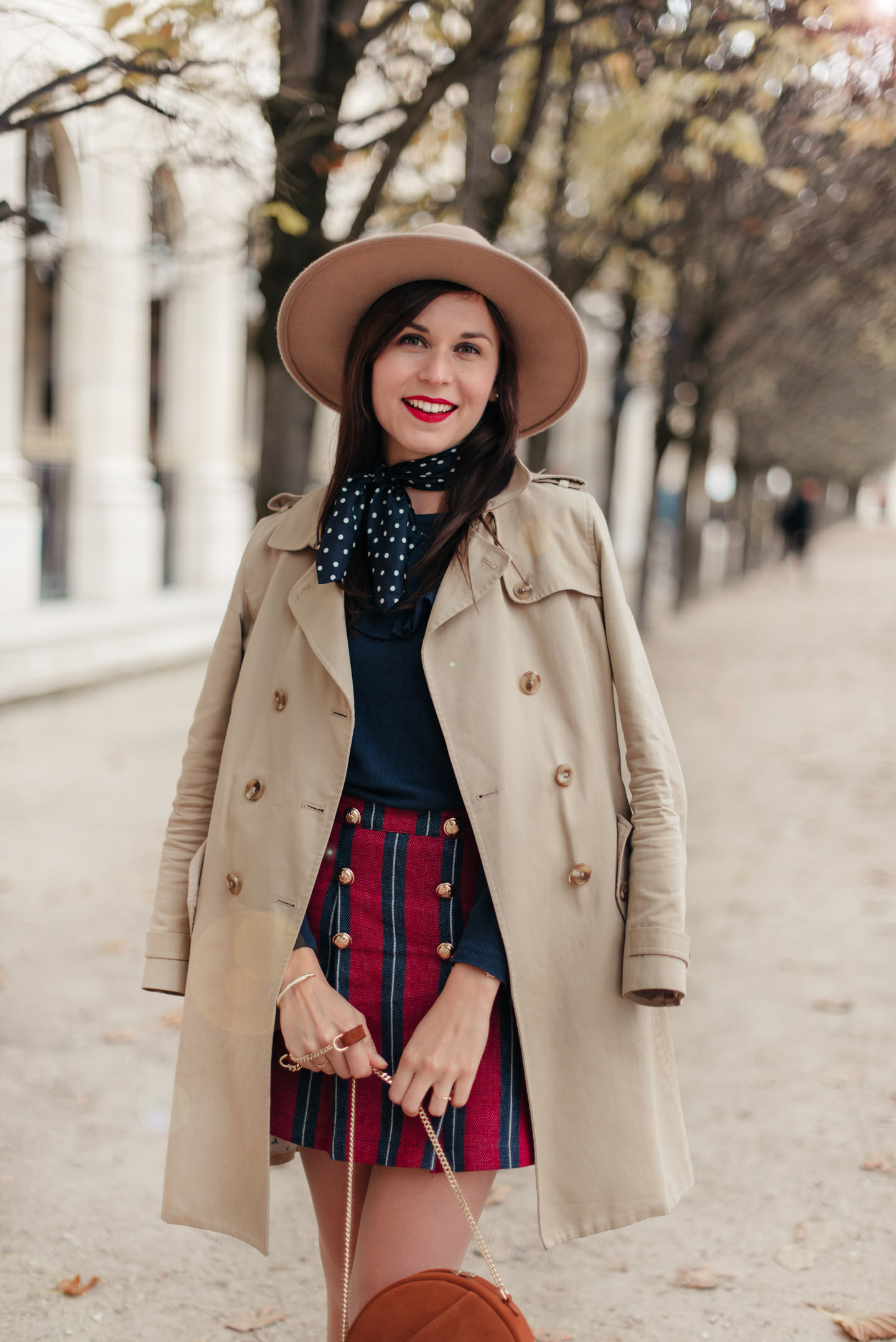 Blog-Mode-And-The-City-Looks-Jupe-Preppy-Automne-Palais-Royal-2