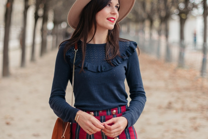Blog-Mode-And-The-City-Looks-Jupe-Preppy-Automne-Palais-Royal-4