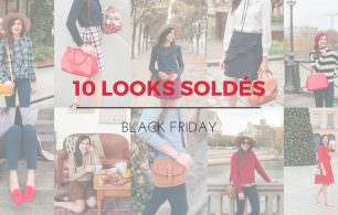 looks soldes promos black friday mode