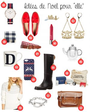 HOLIDAY GIFT GUIDE – IDÉES CADEAUX NOEL - Daphné Moreau - Mode and The City