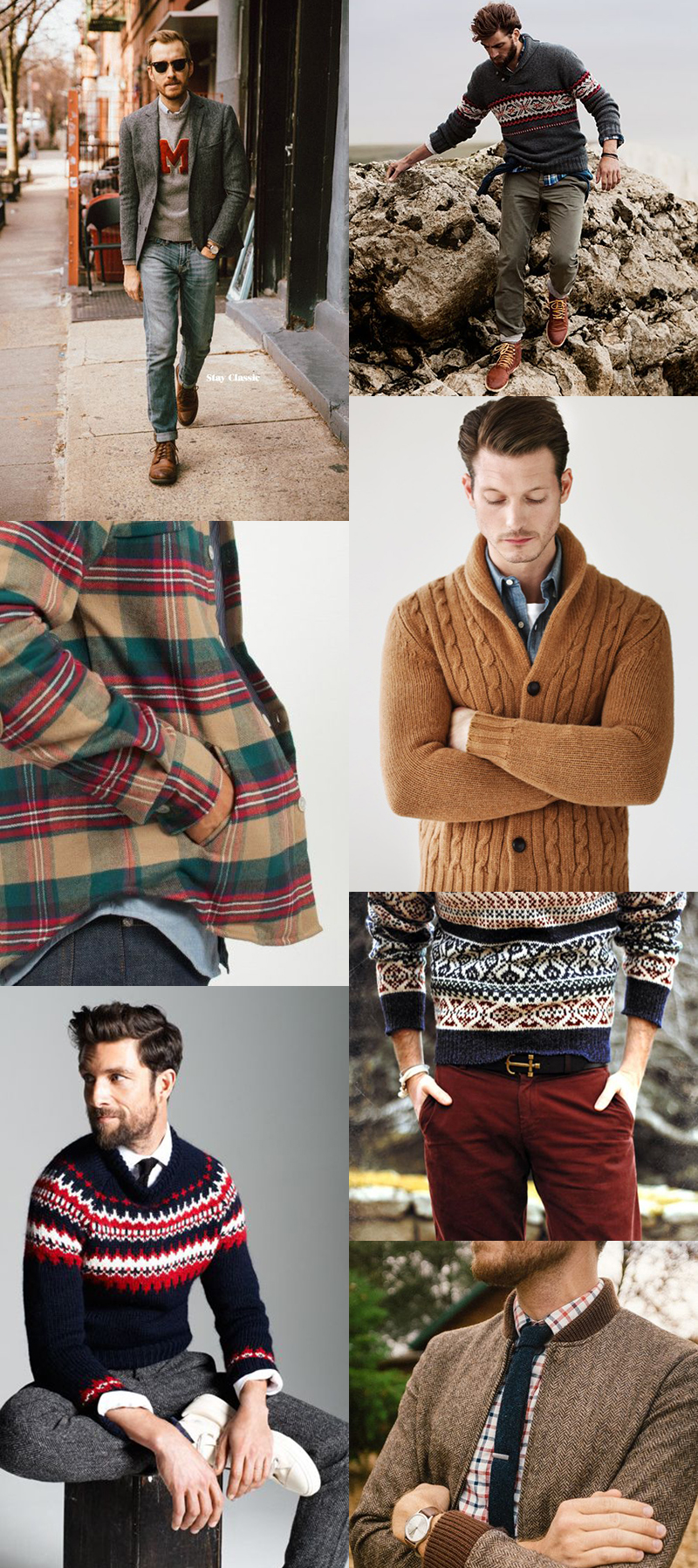 Mode And The City - www.modeandthecity.net - Le vestiaire Masculin (inspiration)