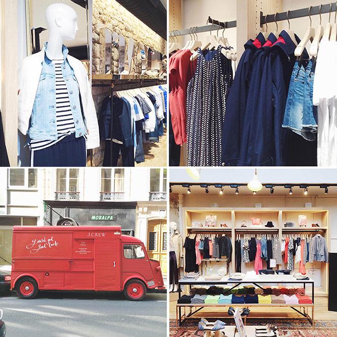 Mode And The City - www.modeandthecity.net - Les Cinq Petites Choses #121 - j.crew paris