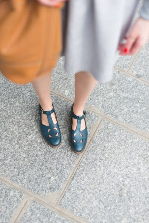 Collaboration Clarks x Orla Kiely - Daphné Moreau - Mode and The City