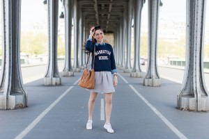 Le cropped sweat - Daphné Moreau - Mode and The City