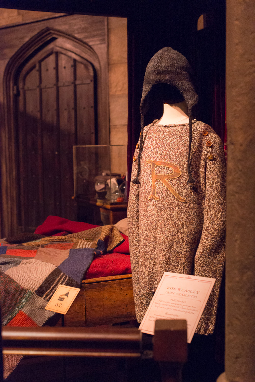 Blog Mode And The City - Exposition Harry Potter Paris - Ron