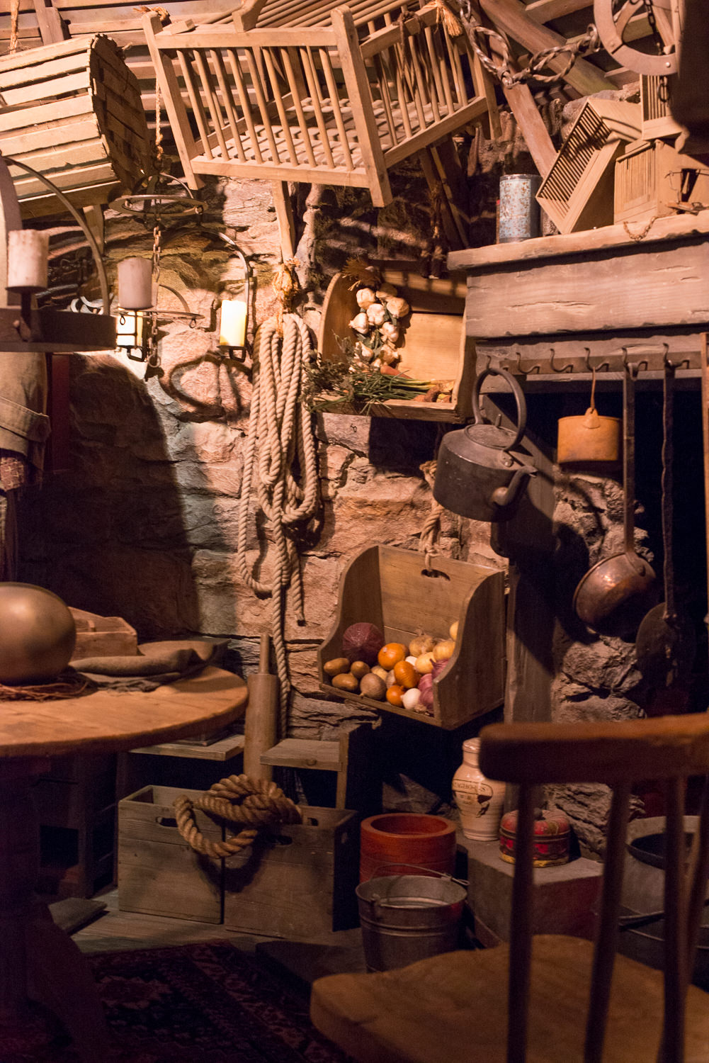 Blog Mode And The City - Exposition Harry Potter Paris - Hagrid cabin