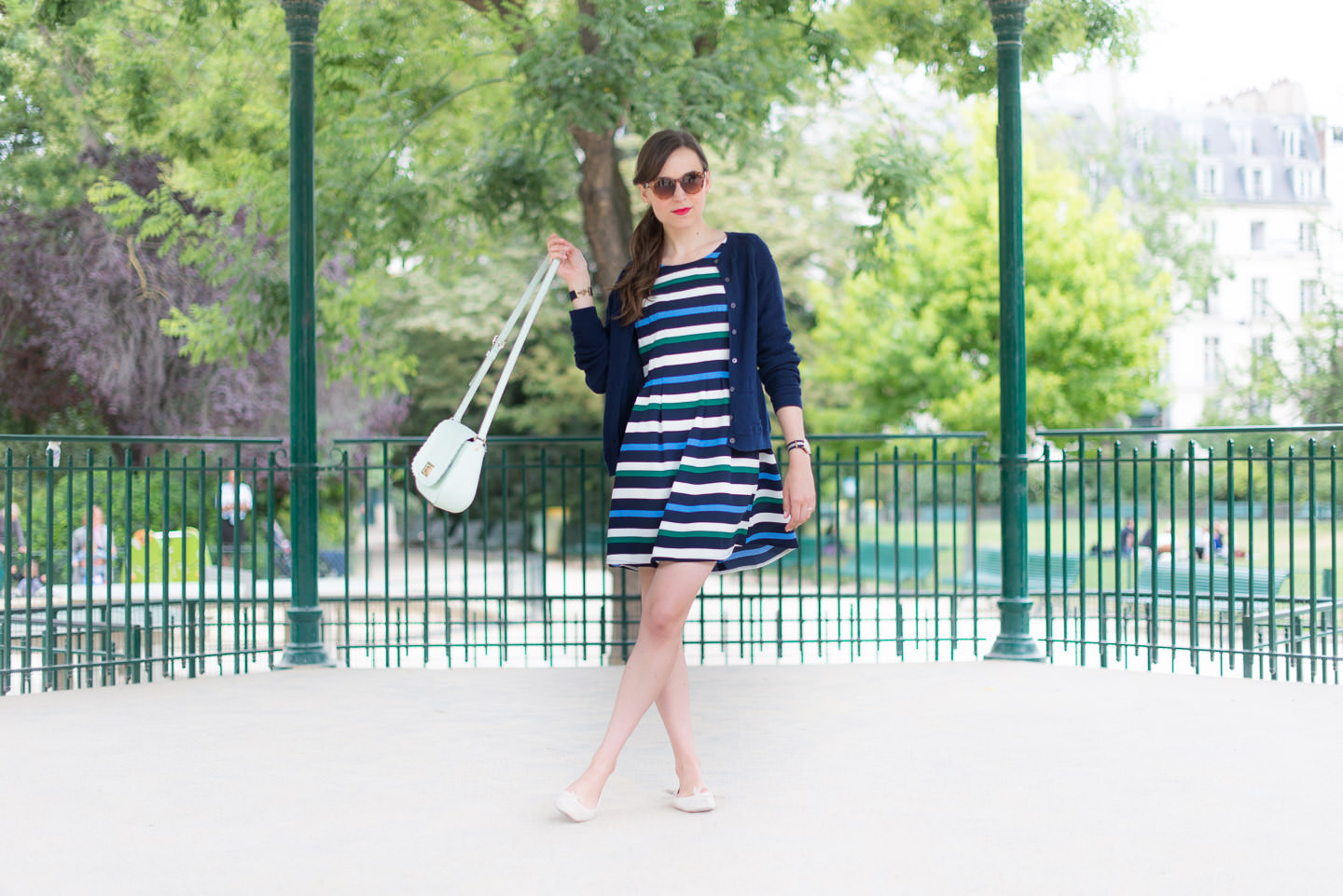 Blog-Mode-And-The-City-Looks-La-Robe-Rayée-Stradivarius