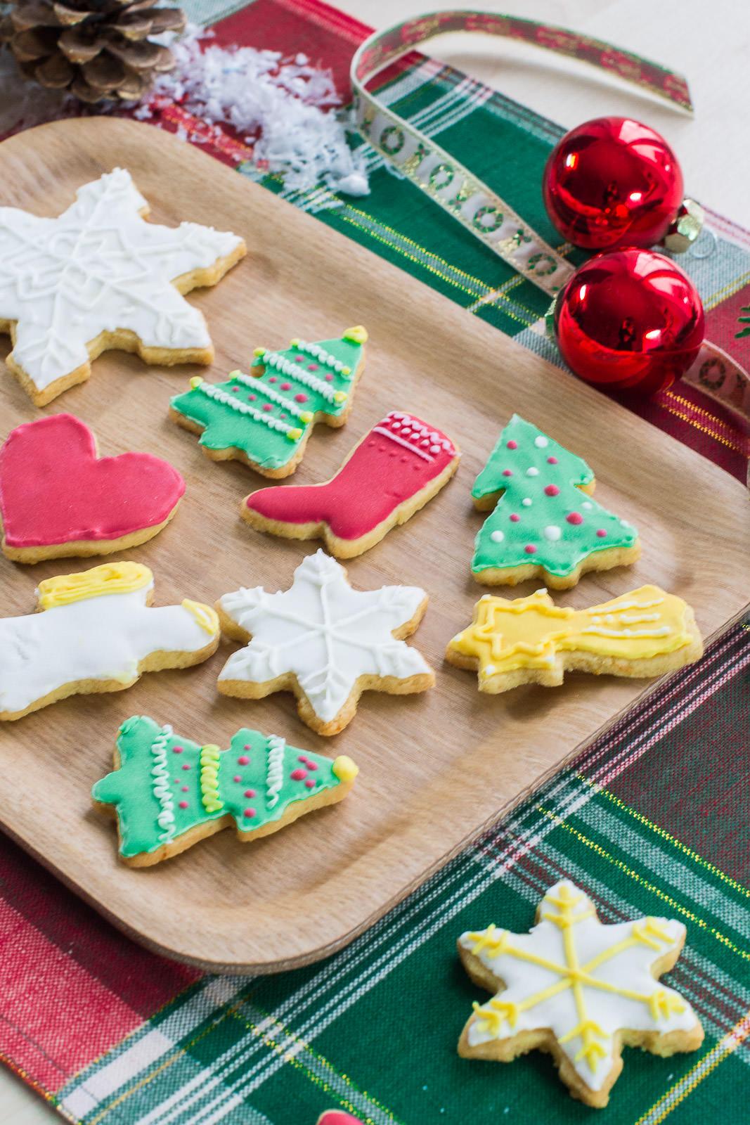 Decoration biscuits de noel americain