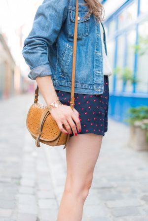 Le petit short Mango - Daphné Moreau - Mode and The City