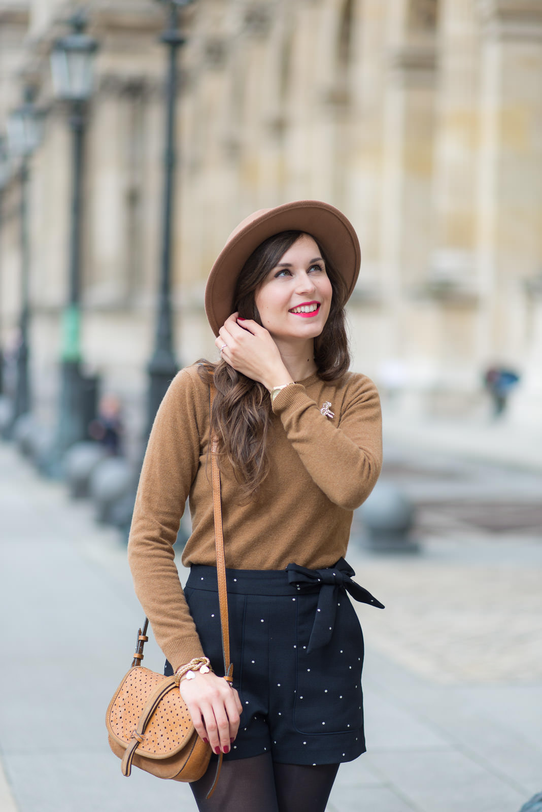 Blog-Mode-And-The-City-Look-Le-short-à-pois-4