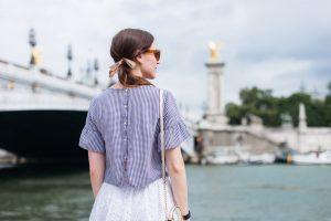 Sous le Pont Alexandre III - Daphné Moreau - Mode and The City