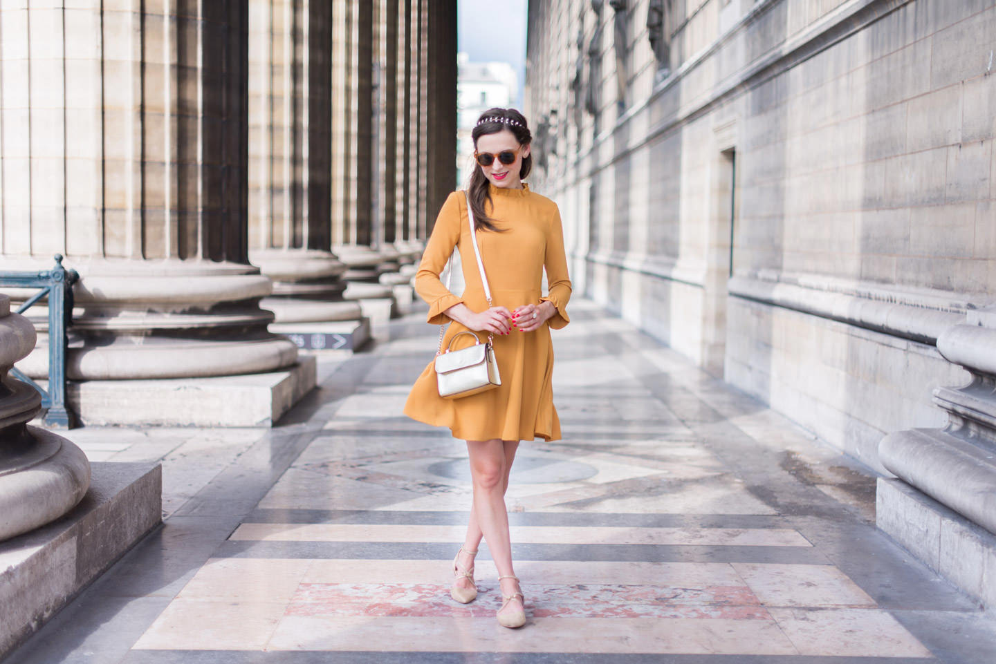 Blog-Mode-And-The-City-Looks-Robe-Moutarde-Mademoiselle-R-2