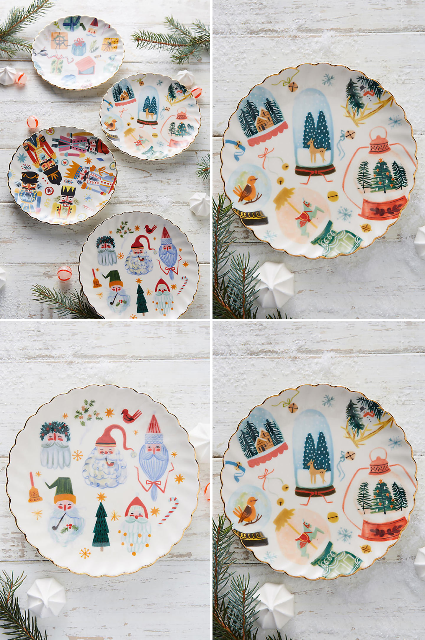Blog-Mode-And-The-City-Lifestyle-Cinq-Peties-Choses-198-Anthropologie-assiettes-Noel