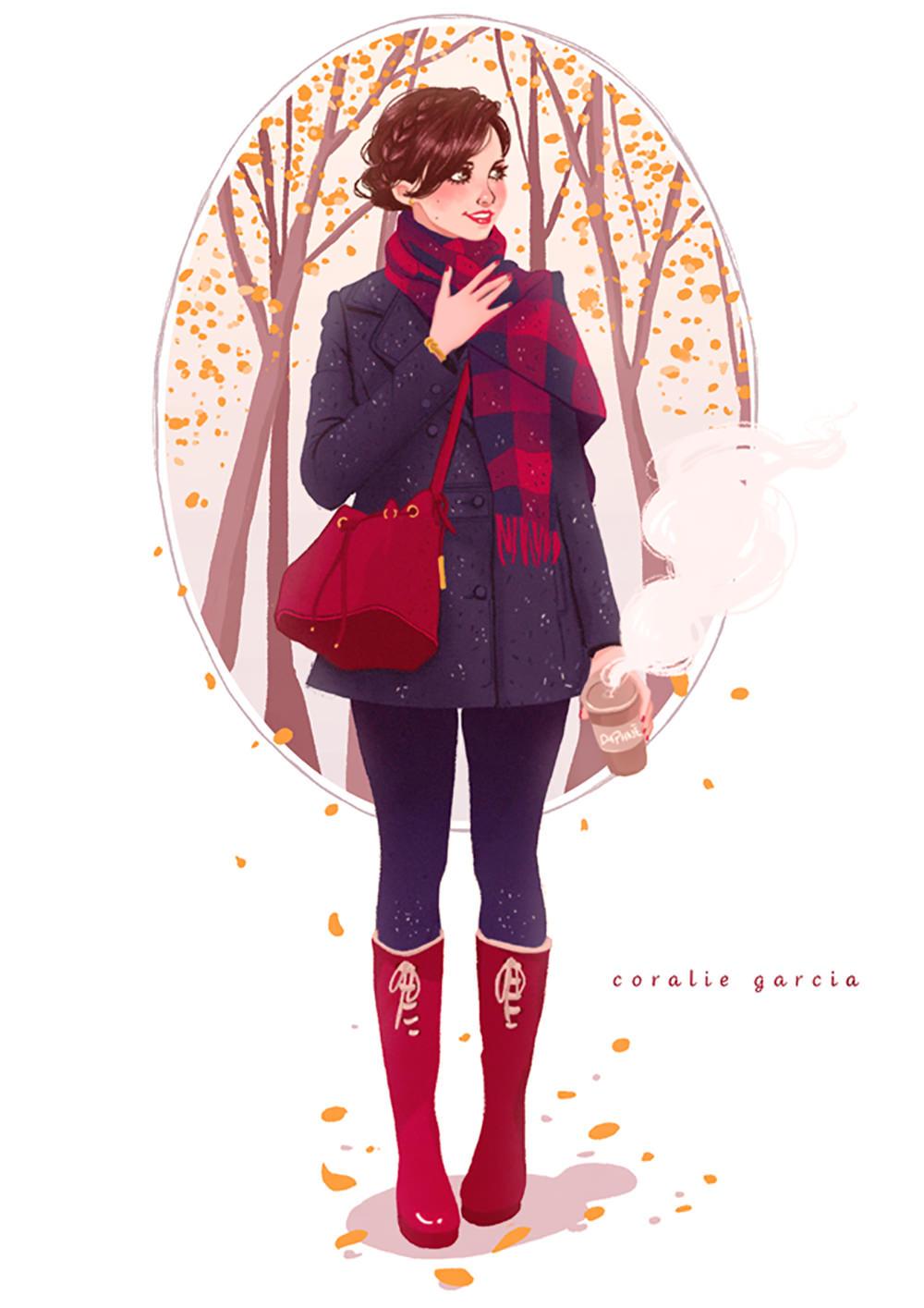 Blog-Mode-And-The-City-Lifestyle-Cinq-Petites-Choses-207-illustration-coralie-garcia