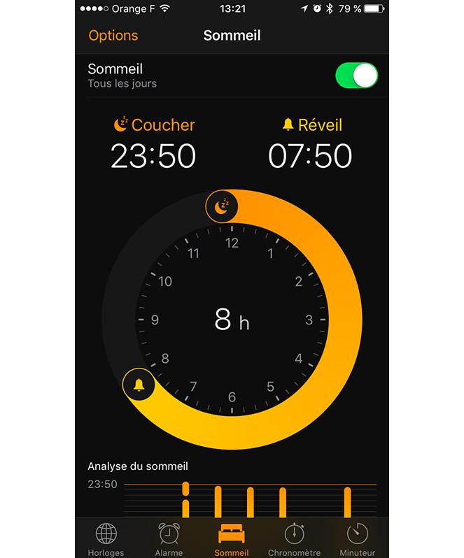 iOS-Sommeil