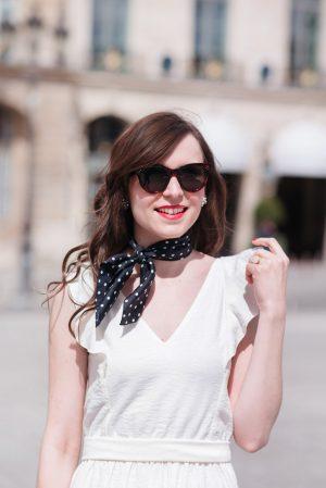 La robe blanche parfaite - Daphné Moreau - Mode and The City