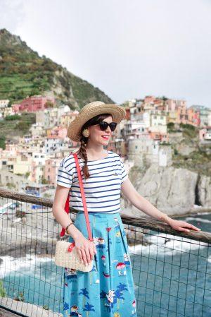 Italie #2 : Voyage à Sestri Levante & Cinque Terre - Daphné Moreau - Mode and The City