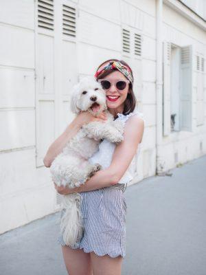 Comment sortir et voyager avec son chien - Daphné Moreau - Mode and The City