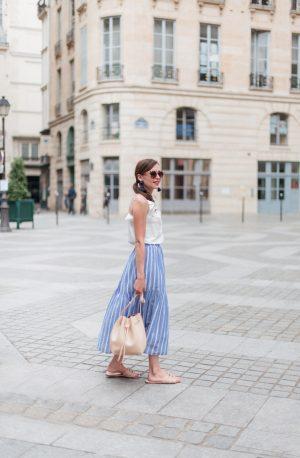 L'été en jupe longue (look à moins de 100€) - Daphné Moreau - Mode and The City