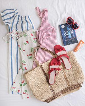 Dans ma valise de vacances d'été - Daphné Moreau - Mode and The City