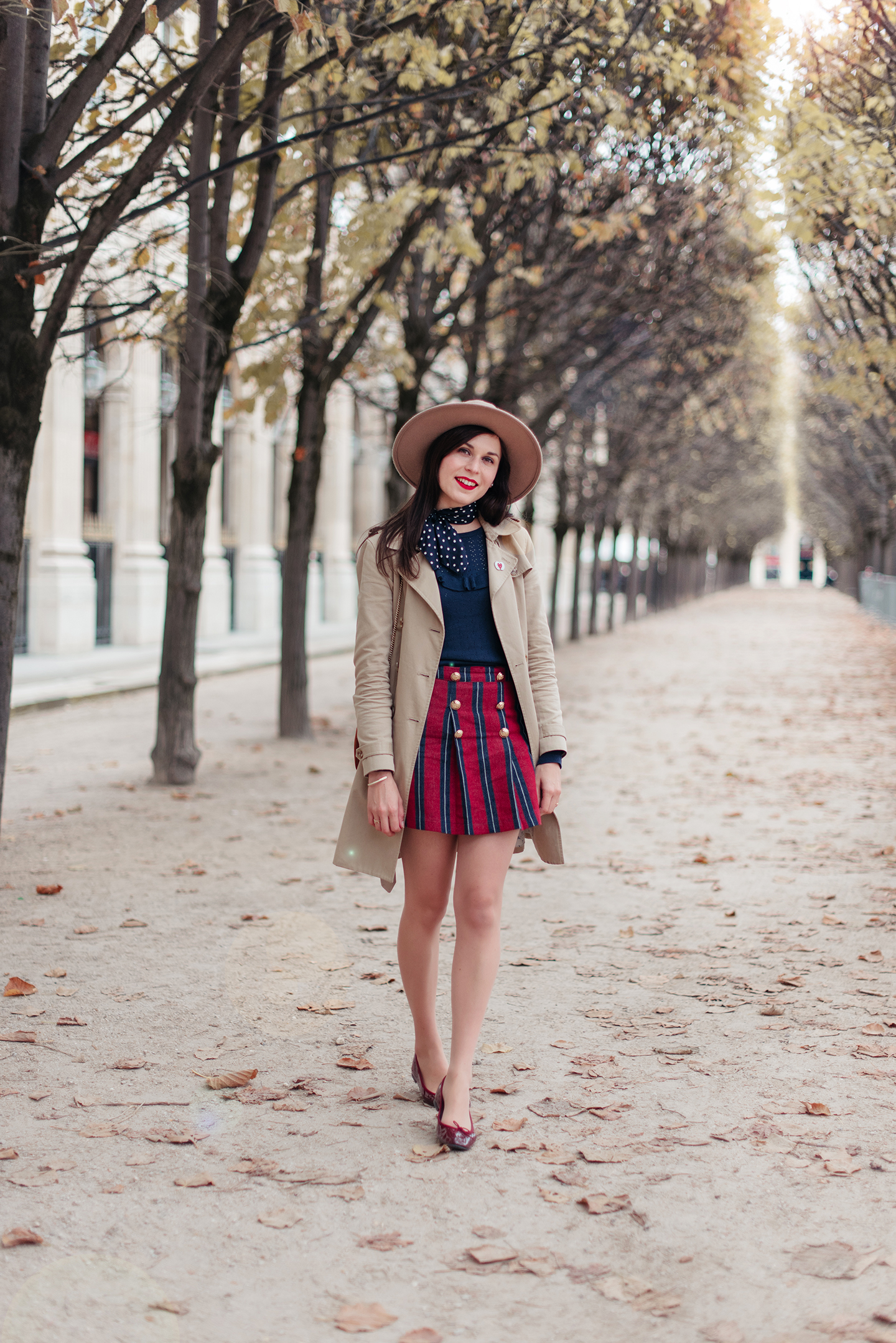 Blog-Mode-And-The-City-Looks-Jupe-Preppy-Automne-Palais-Royal