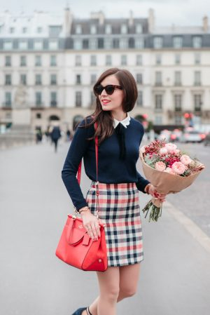 Look preppy coloré - Daphné Moreau - Mode and The City