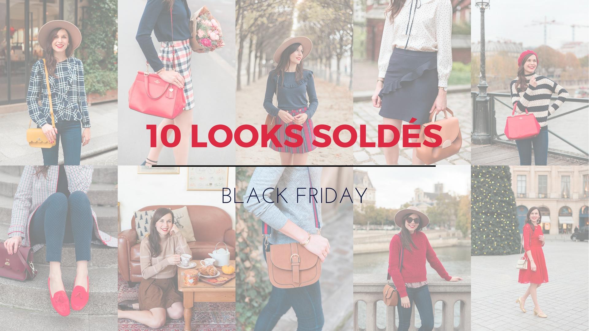 mes 10 looks sold s en black friday mode and the city. Black Bedroom Furniture Sets. Home Design Ideas