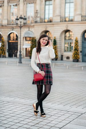 5 tenues pour les fêtes - Daphné Moreau - Mode and The City