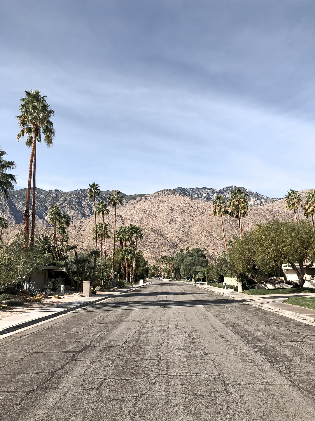 palm springs streets
