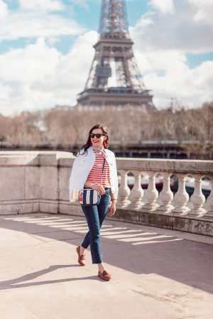 National Stripes Day avec J.Crew - Daphné Moreau - Mode and The City
