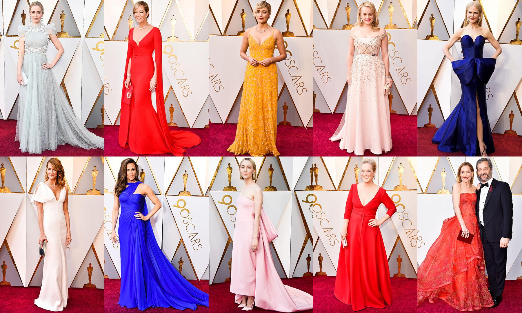 f291b1cd44e24 Les plus belles robes des Oscars 2018 — Mode and The City
