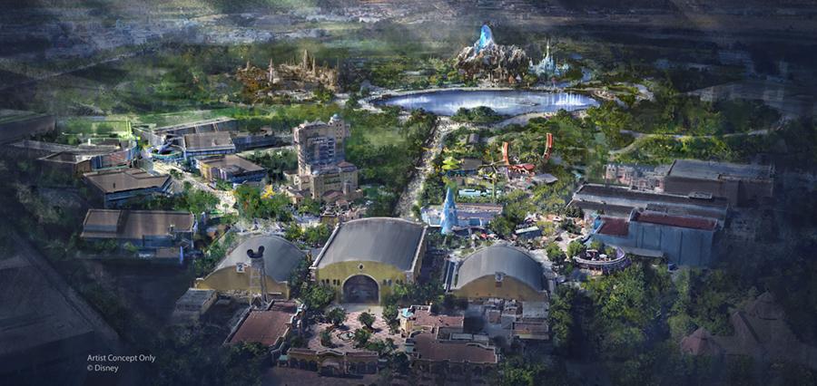 Disney-agrandissement-parc