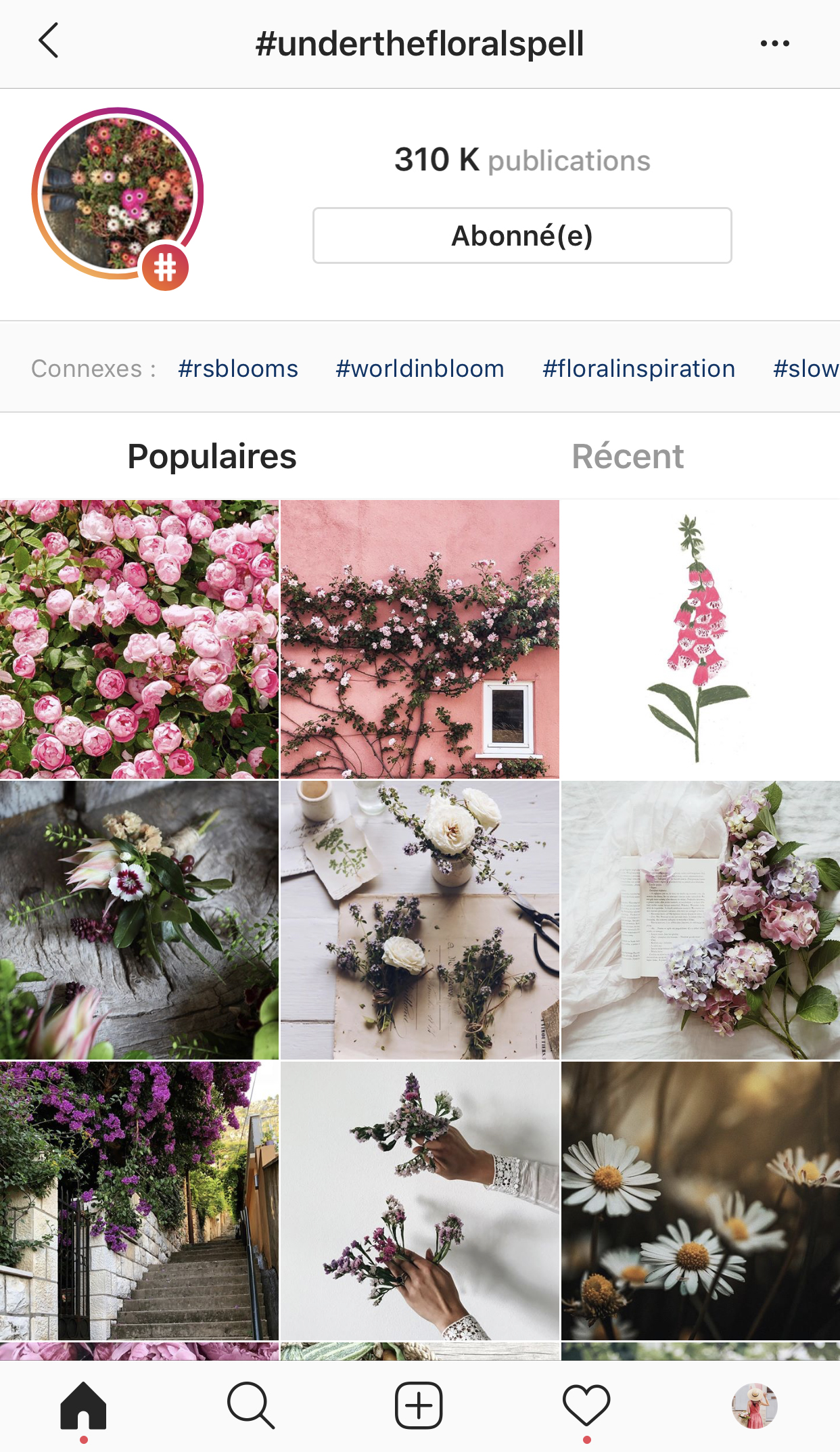 Cinq-petites-choses-hashtags-under-the-floral-spell