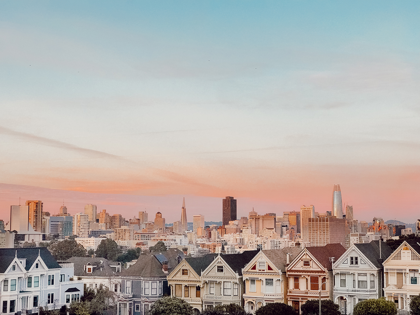San-Francisco-view-painted-ladies
