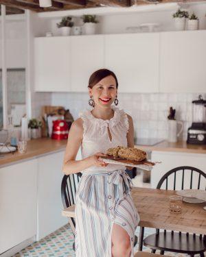 Ma recette de cake salé rapide et facile aux petits pois et feta - Daphné Moreau - Mode and The City