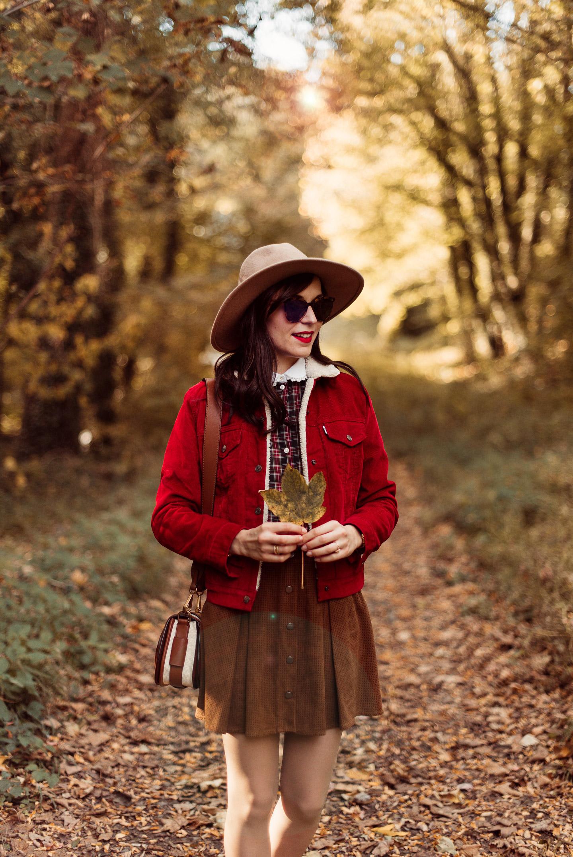 Shooting-foret-automne-veste-sherpa-levis_5372-2