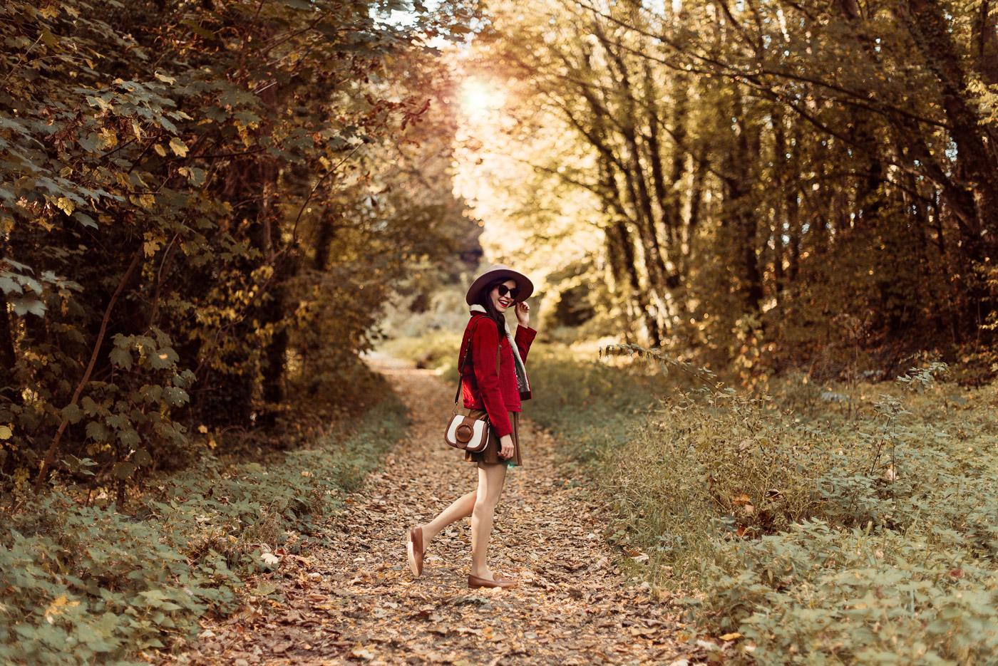 Shooting-foret-automne-veste-sherpa-levis_5398-2