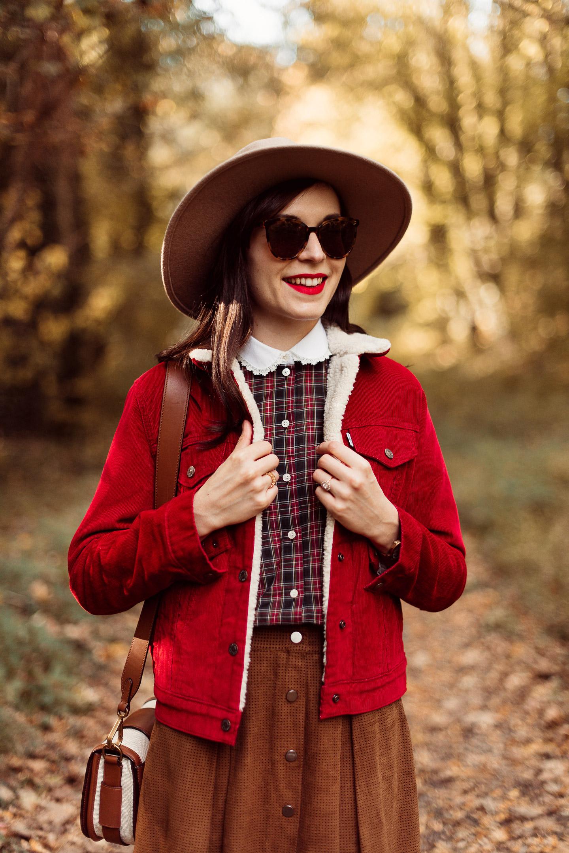 Shooting-foret-automne-veste-sherpa-levis_5425