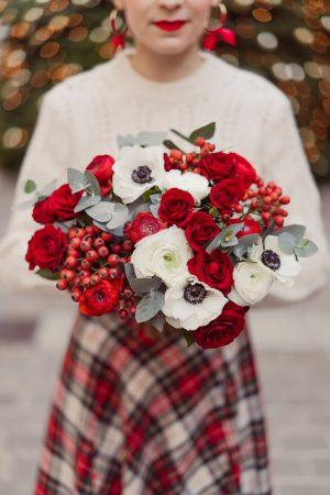 J'ai créé mon bouquet de Noël (jeu-concours avec Bergamotte) - Daphné Moreau - Mode and The City