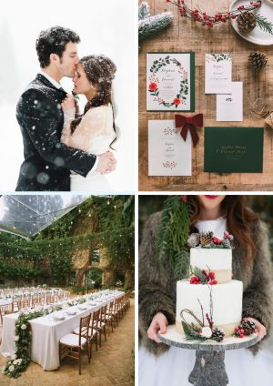 Nos inspirations pour notre mariage d'hiver - Daphné Moreau - Mode and The City