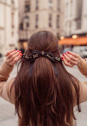 Ces accessoires de cheveux que j'adore porter - Daphné Moreau - Mode and The City