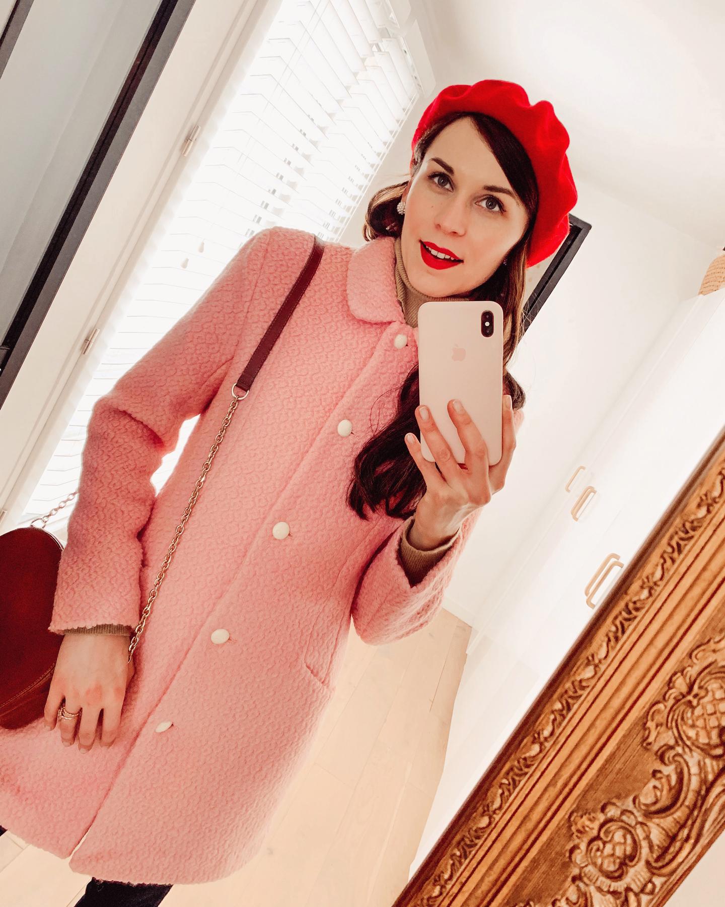 manteau-rose-la-redoute