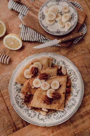 Ma recette de crêpes légères sans beurre et sans sucre au lait d'amande - Daphné Moreau - Mode and The City