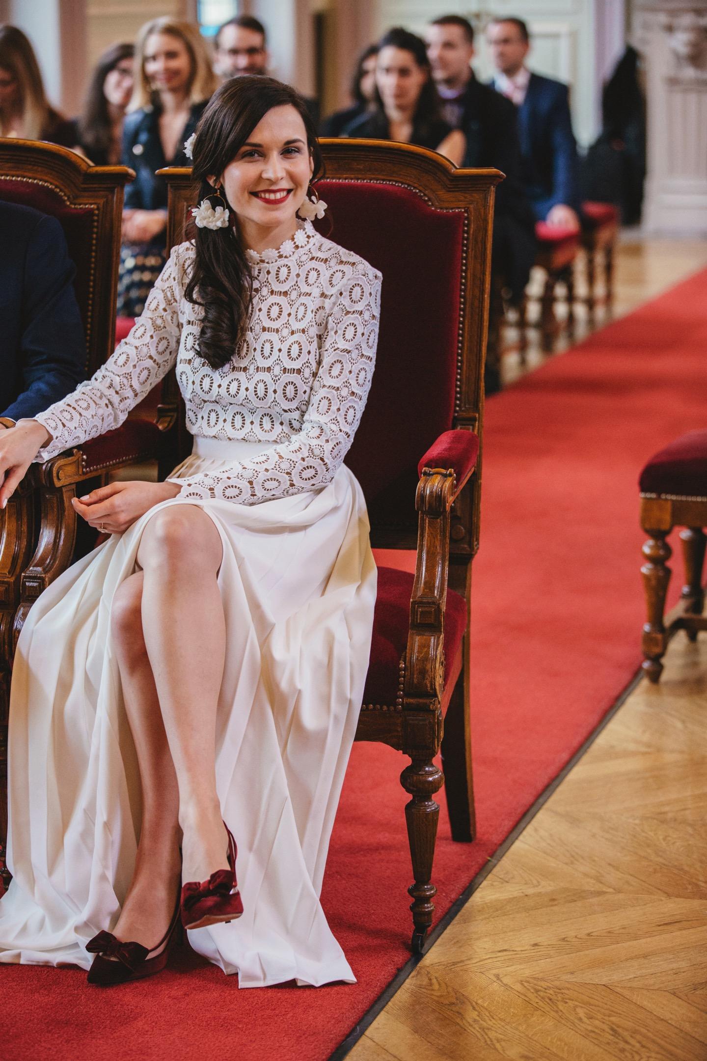 Je vous montre ma robe de mariage civil \u2014 Mode and The City